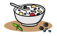 Domáci polotučný  jogurt