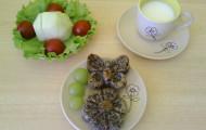 Makové muffiny s mliekom