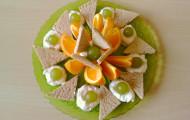 Pomarančový tanier