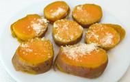 Batáty (sladké zemiaky) s parmezánom