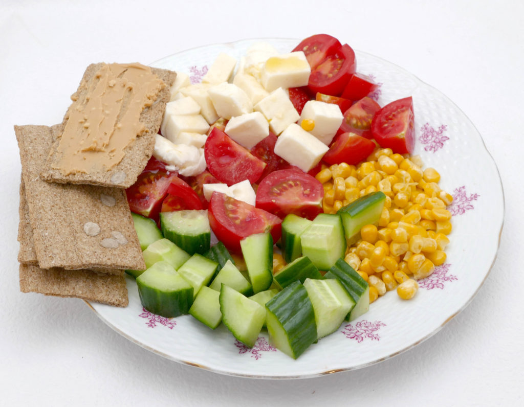 zelenina na tanieri
